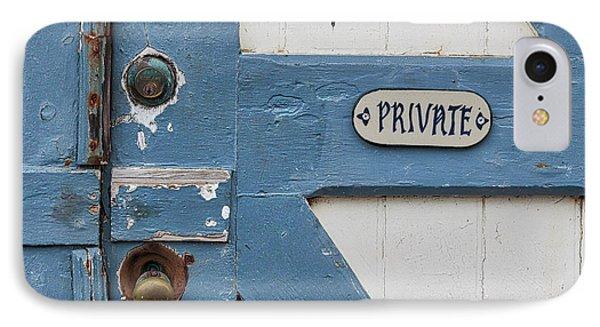 Private IPhone Case by Ana V Ramirez