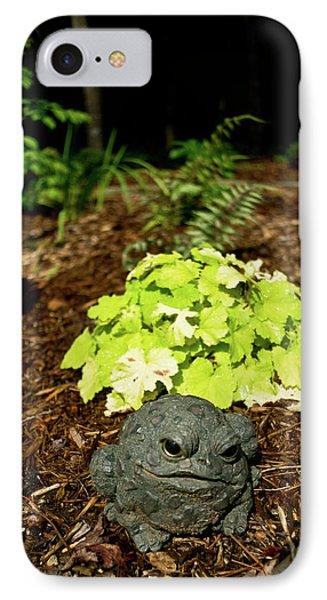 Private Garden Go Away Phone Case by Douglas Barnett