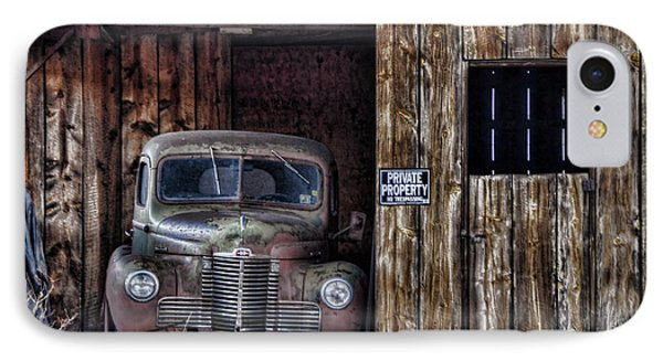 Private Parking IPhone Case by Ken Smith