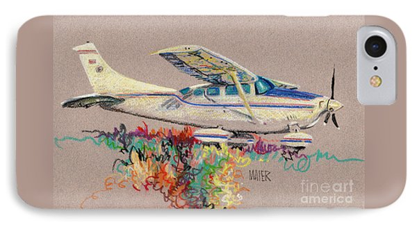 Private Plane IPhone Case by Donald Maier
