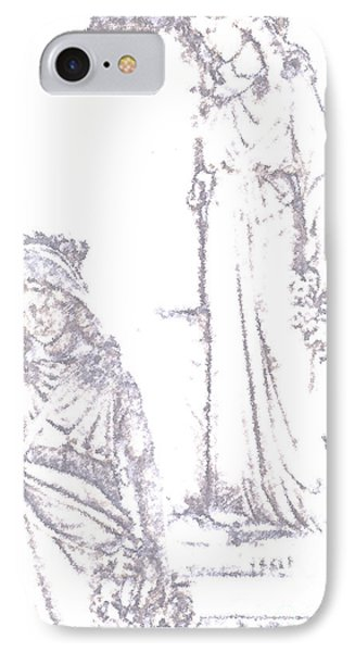 Procession Of Faith 2 IPhone Case by Linda Shafer