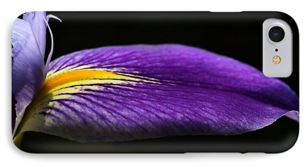 Profile Of An Iris Phone Case by Sabrina L Ryan