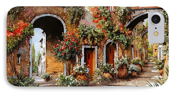 Street iPhone 7 Case - Profumi Di Paese by Guido Borelli