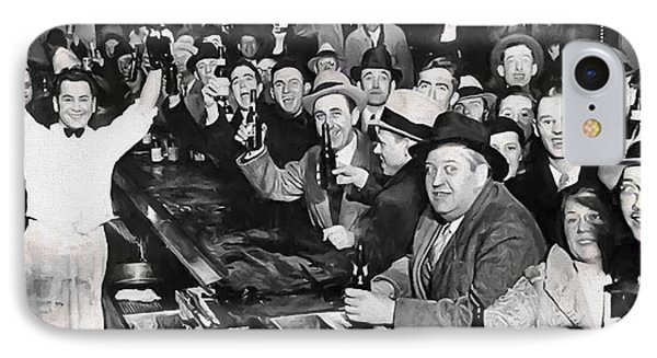 Prohibition Ends Celebration Dec 5, 1933 IPhone Case