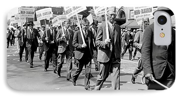 Prohibition Protest March IPhone Case