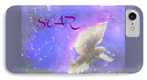Prophetic Call Soar IPhone Case by Beverly Guilliams