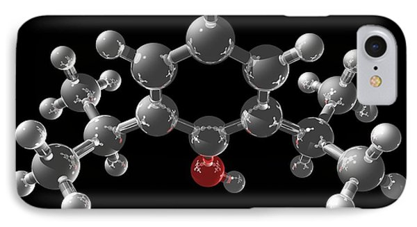 Propofol Molecule Phone Case by Laguna Design