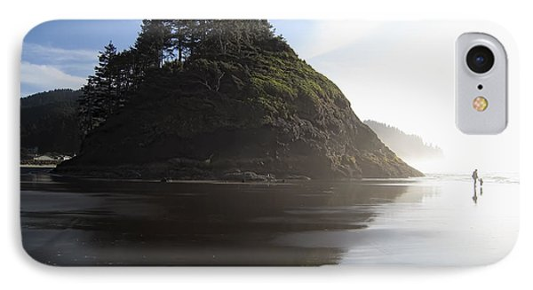 Proposal Rogue Wave Rock - Oregon Coast IPhone Case