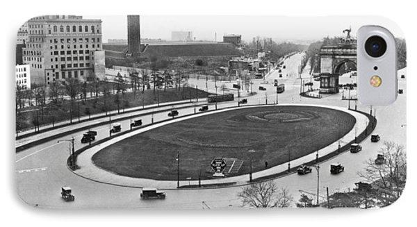 Prospect Park Plaza IPhone Case by Underwood Archives