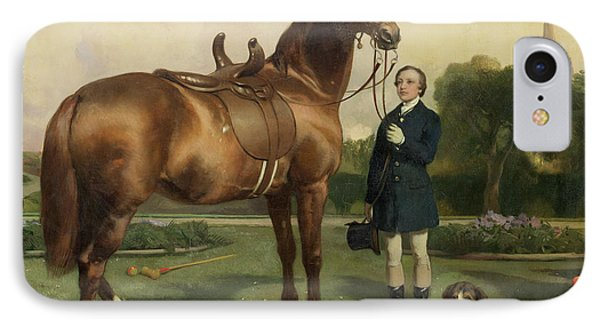 Prosperity IPhone Case by Sir Edwin Landseer
