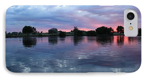 Prosser Pink Sunset 5 Phone Case by Carol Groenen