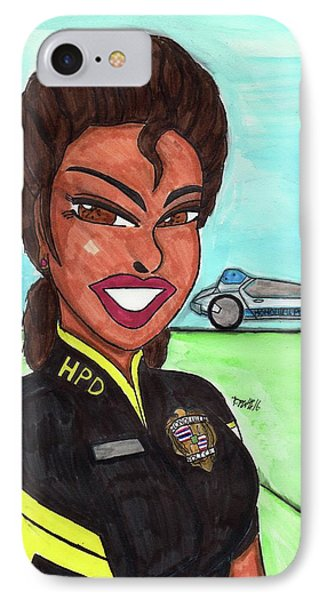 Serve And Protect Hawaiian Style 3 IPhone Case by Ronald Woods