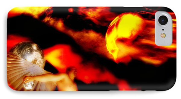 IPhone Case featuring the digital art Protection by Isabella F Abbie Shores FRSA
