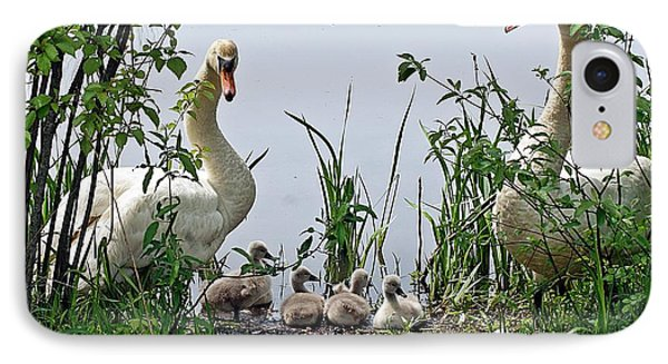 Protective Parents IPhone Case by Joe Faherty