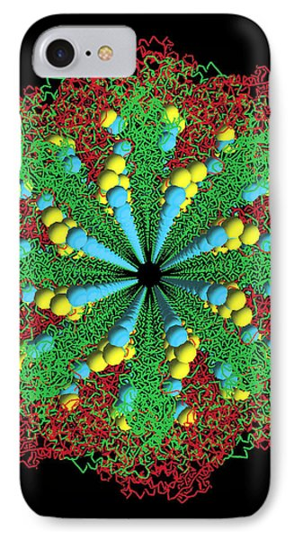 Protein Nanotube Phone Case by Nasa