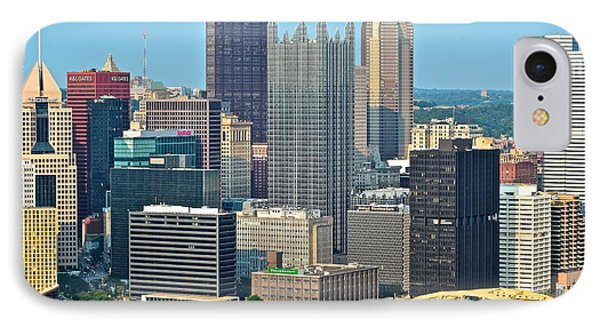 Proud Pittsburgh IPhone Case by Frozen in Time Fine Art Photography