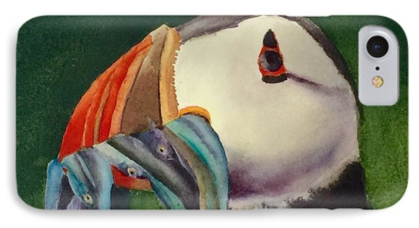 Proud Puffin IPhone Case