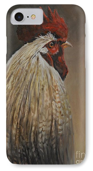 Proud Rooster Phone Case by Charlotte Yealey