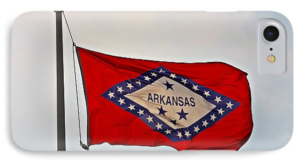 Proud To Be An Arkansan- Fine Art IPhone Case by KayeCee Spain