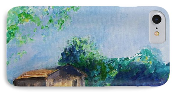 Provence House IPhone Case by Eric  Schiabor