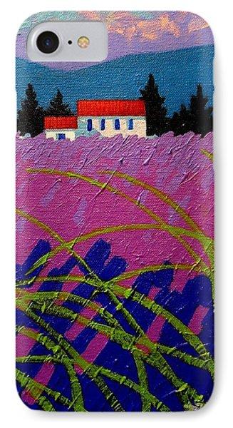 Provence Landscape Phone Case by John  Nolan