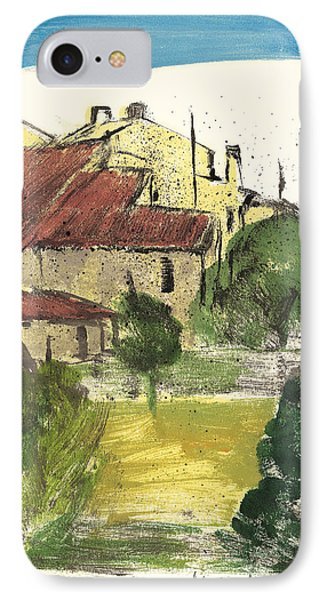 Provence Landscape Sainte Marguerite IPhone Case by Martin Stankewitz
