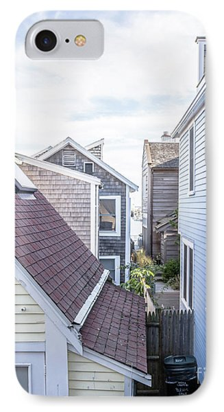 Provincetown Alley Cape Cod IPhone Case by Edward Fielding
