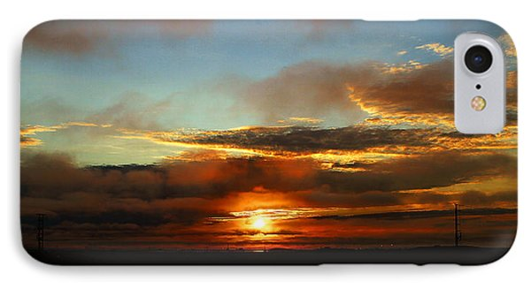 Prudhoe Bay Sunset Phone Case by Anthony Jones