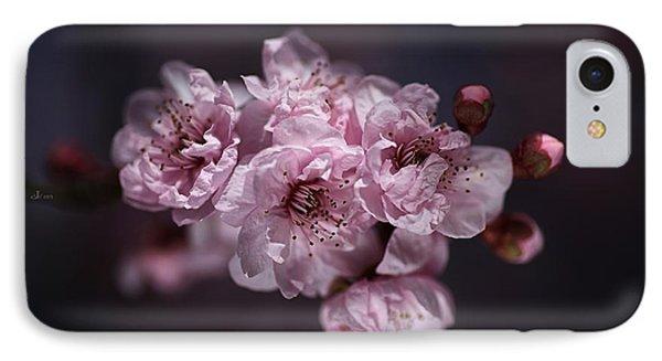 Prunus A Pink Spring IPhone Case