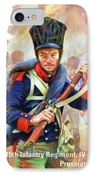 Prussian Infantryman IPhone Case