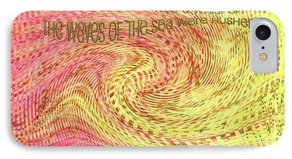 Psalm 107 Phone Case by Bonnie Bruno