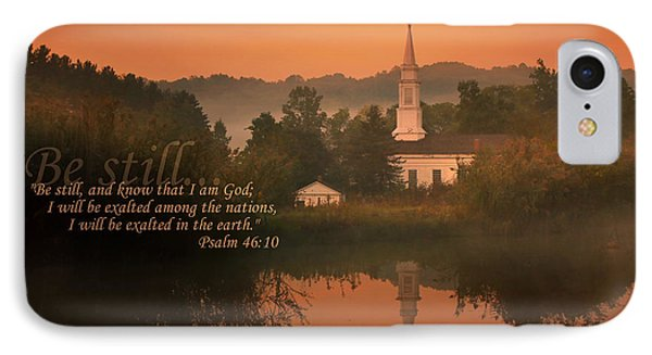 Psalm 46.10 IPhone Case by Rob Blair