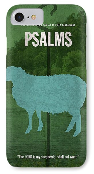 Psalms Books Of The Bible Series Old Testament Minimal Poster Art Number 19 IPhone Case