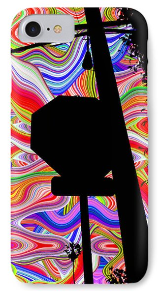 Psychedelic Sky Phone Case by Phill Petrovic