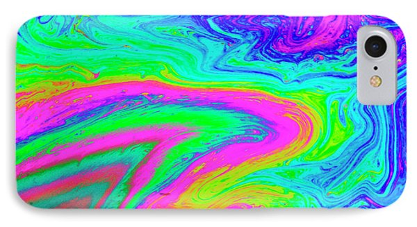 IPhone Case featuring the photograph Psychedelic Swirl by Jean Noren