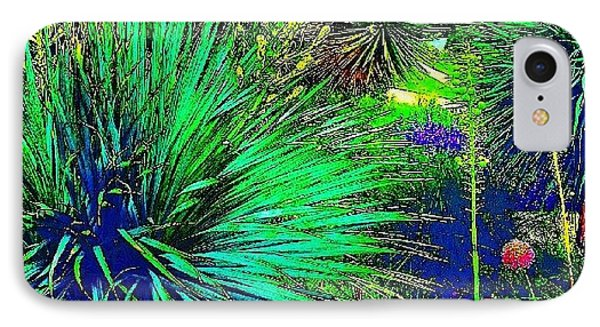 Psychedelic Yuccas. #plant #yucca IPhone Case