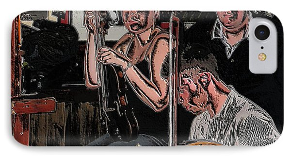 Pub Scene Three IPhone Case by Dave Luebbert