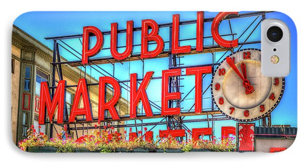 IPhone Case featuring the photograph Public Market At Noon by Spencer McDonald