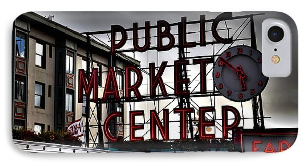IPhone Case featuring the photograph Public Market Center by Janice Spivey