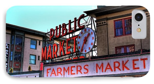 Public Market II IPhone Case by David Patterson