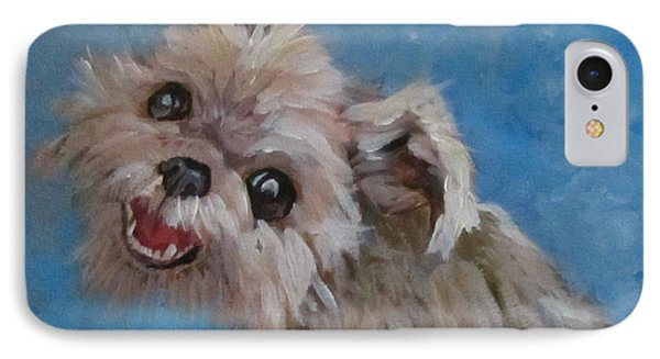 Pudgy Smiles IPhone Case by Barbara O'Toole