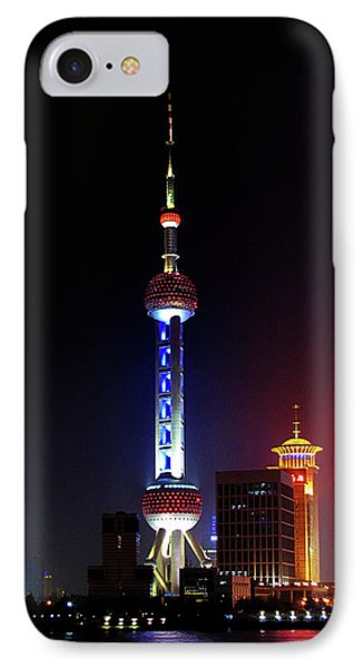 Pudong New District Shanghai - Bigger Higher Faster Phone Case by Christine Till