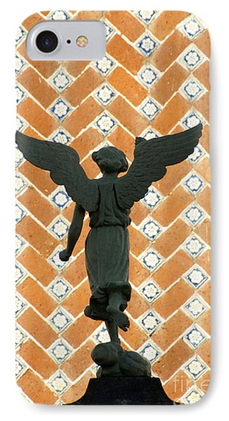 IPhone Case featuring the photograph Puebla Angel Mexico by John  Mitchell