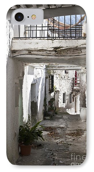 IPhone Case featuring the photograph Puebla Blanca Capileira by Heiko Koehrer-Wagner