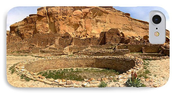 IPhone Case featuring the photograph Pueblo Bonito Kiva Ruins by Adam Jewell