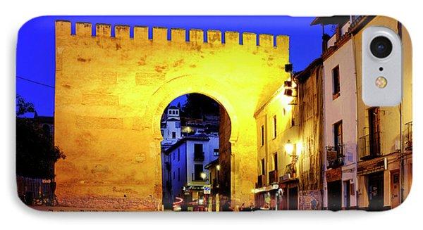 IPhone Case featuring the photograph Puerta De Elvira by Fabrizio Troiani