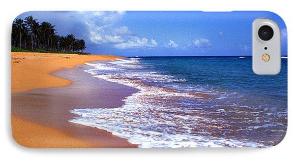 Puerto Rico Shoreline Along Pinones Phone Case by Thomas R Fletcher