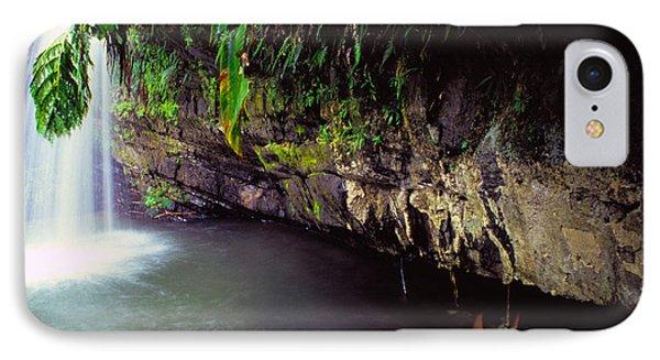 Puerto Rico Waterfall Phone Case by Thomas R Fletcher