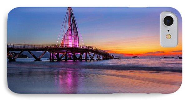 IPhone Case featuring the photograph Puesta De Sol En La Playa De Los Murtos by Edward Kreis