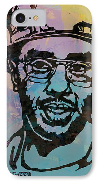Puff Daddy Pop Stylised Art Poster IPhone Case by Kim Wang